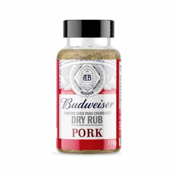 Delicioso tempero seco feito especialmente para carne suína. Preparado com pimenta, especiarias, malte de cevada e lúpulo.