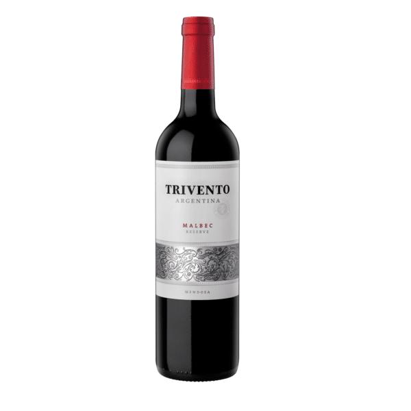 De coloração vermelho carmim, o Trivento Reserve 2017 tem aroma de ameixa preta e framboesa, com notas de baunilha. Os sabores vêm do carvalho francês em que esse malbec descansou. É um vinho argentino elegante e equilibrado, com final aveludado. Harmoniza com carne bovina.