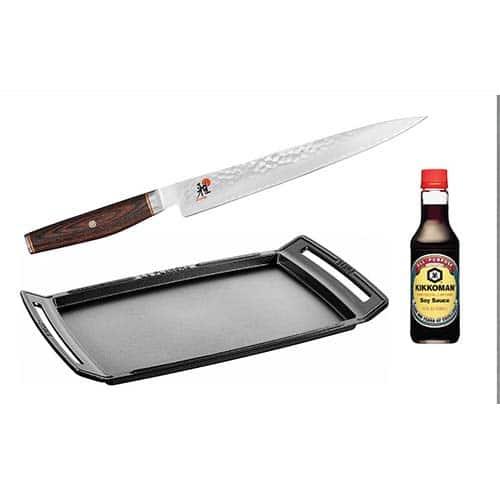 kit de acessórios para carnes wagyu