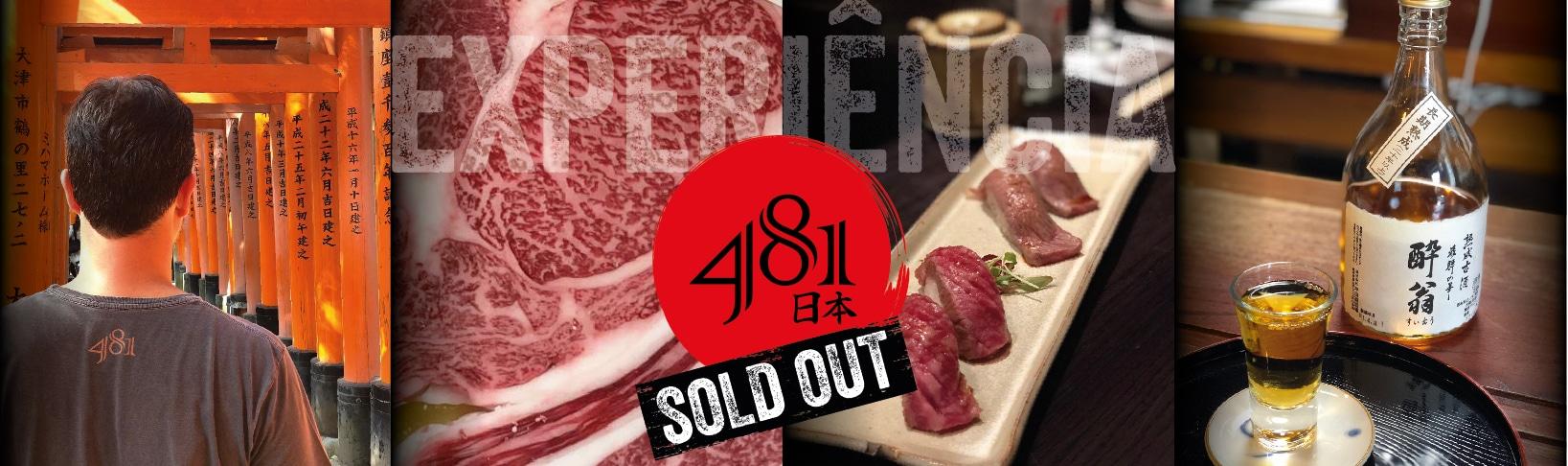481 Japão sold out