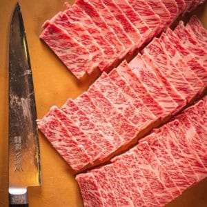 Carne japonesa Wagyu 481