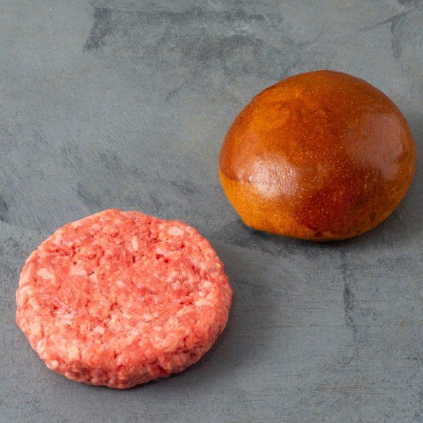 Kit 481 Burger de Picanha Pão e Carne
